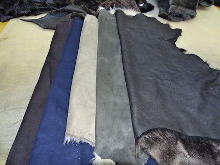 Kauper Pelz und Lammfell Fashion Schesslitz - Rohstoffe
